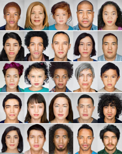 Martin Schoeller. The Changing Face of America.